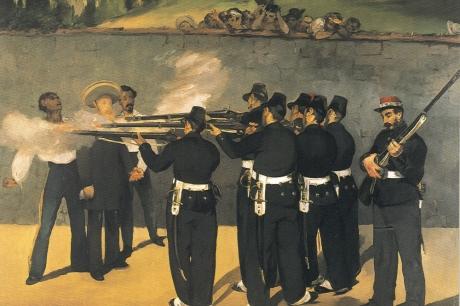 De Executie van Maximiliaan
