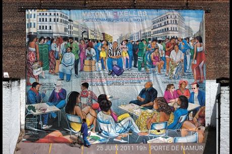 Postcards from the future (Porte de Namur)