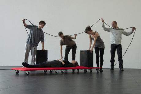 Sound Bed, A Movement - Sound Installation