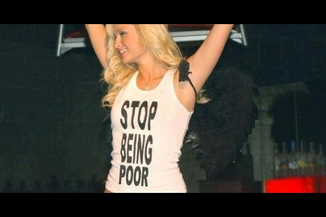 Stop being poor