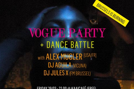 Vogue workshop, dance battle & party