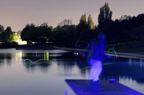 Championnat du Monde de Ricochets Fluorescents