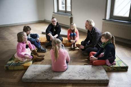 Arts Day for Children: Joos Vollebregt and the young philosophers (4 to 9 years old)