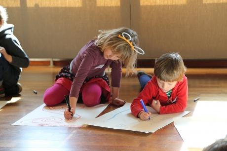 Kunstendag voor kinderen: Creatief over grenzen heen (4-12j)