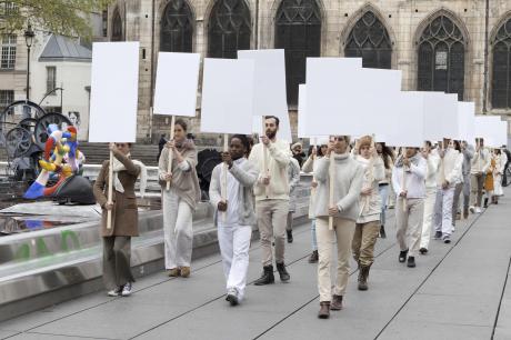 Choreografe Anne Collod zoekt deelnemers voor een performance in openbare ruimte