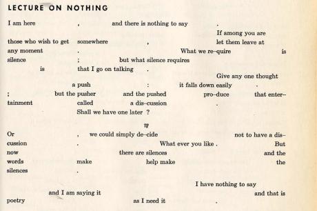 Conférence sur rien (1949)