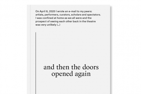 and then the doors opened again – David Weber-Krebs