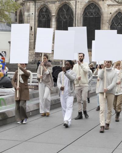 La chorégraphe Anne Collod cherche des figurants pour une performance dans l'espace public