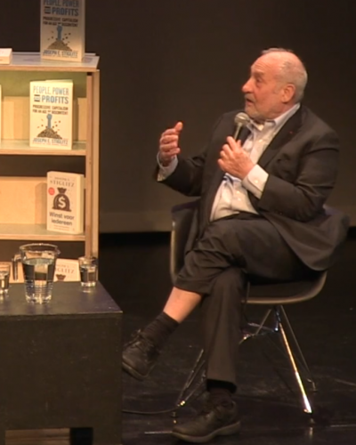 VIDEO: Joseph Stiglitz on 'People, Power, and Profits'