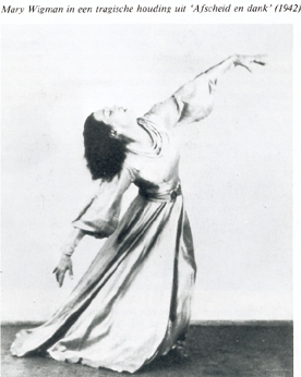 On Mary Wigman