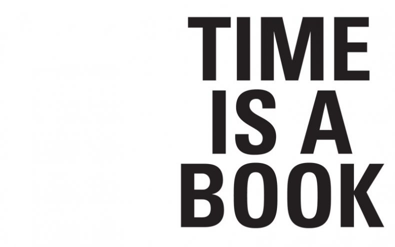 Time is a book