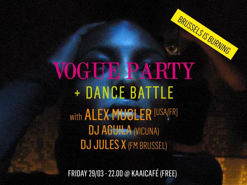 Vogue workshop, dance battle & party