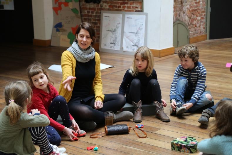 Kunstendag voor Kinderen: filosofielabo (6-9 jaar)