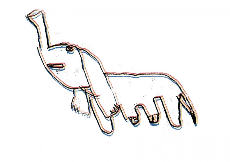 Het houten ezeltje